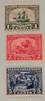 Scott#: 548-550 - 1920 Pilgrim Tercentenary Mint NH OG Single Stamp Set - Lot 3