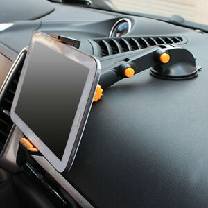 """Car GPS Windshield Mount Holder For iPhone 7-11"""" iPad Mini/2/3/4/Air Tablet 360°"""