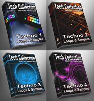 Epic Techno Ultimate Tech Collection All Techno 1-4 Epic Bundle WAV Loops Studio