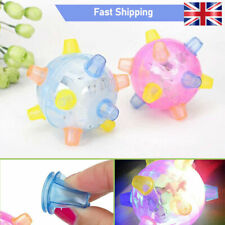 Pet Toys Jumping Activation Ball LED Jump Dance Ball Toy for Dog - UK
