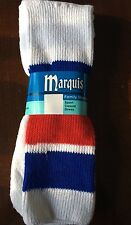 Vintage NOS Marquis Sport Casual Dress Socks Striped Men's Womens