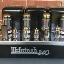 McIntosh MC240 Stereo Tube Power Amplifier Vintage Beauty with Service Records