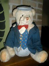 "Antique 1980's Teddy Bear 'G' 19"" tall limited edition #92G doll"
