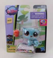 Littlest Pet Shop LPS Singles Pets in the City 121 Bopper Beletee Weasel New