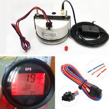 85mm Waterproof Motorcycle Truck Boat GPS Digital Speedometer COG ODO TRIP Meter