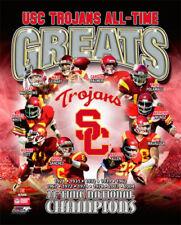 USC Trojans Football ALL-TIME GREATS Poster Print CLAY MATTHEWS Lott Polamalu ++