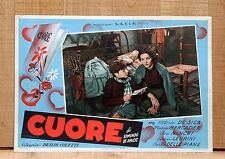 CUORE fotobusta poster Vittorio De Sica Mercader De Lullo Leurini Ninchi F14