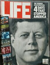 """Life """"The Kennedy Assassination: 4 Days That Stopped America"""" Nov 1983"""