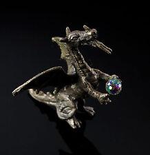 Dragon Figurine With Crystal Ball