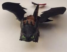 How to Train Your Dragon Toothless Night Fury Spinning Barrel Roll Toy 2013