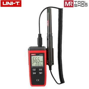 UNI-T UT333S Digital temperature humidity meter Hygometer -10℃~60℃ LCD Data hold