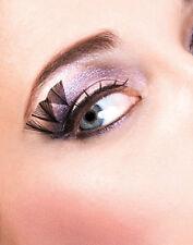 Sexy Black Feather False Eyelashes Extensions Baci Paradise Dreams Eyelashes