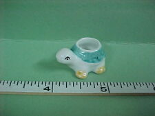 Ceramic Turtle Planter #B504 Dollhouse Miniature