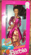 1991 Dotw Malaysian Barbie Mib