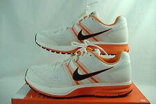 """New Mens 5 NIKE """"Air Pegasus 29 Team"""" White Orange Running Shoes $100"""