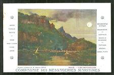 Seychelles Mahé Messageries Maritimes Maurice Lévis ca 1906