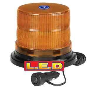 Narva 85248A Pulse High Output LED Rotating Strobe Beacon Light Magnetic Base