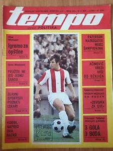 sport magazine TEMPO #155 football Jovan Acimovic WD-40 WD 40 commercial 1969