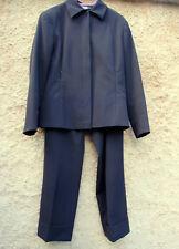 Tailleur ensemble pantalon + veste noir ELYSIO Florence T. 40 TBE