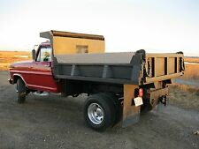 8' Dump Truck Body Bed Steel Hydraulic Hoist Cab Protector  No Rust Fresh Paint