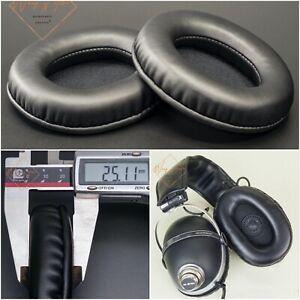 Oval Ellipse Egg Shape Leather EarPads Foam Cushion For Pioneer SE-505 Headphone