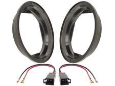anneaux haut-parleur 200mm +Câble Adaptateur pour Seat Toledo 1M devant + queue