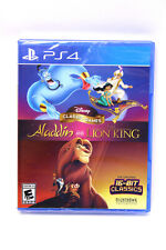 Disney Classic Games Aladdin and The Lion King PlayStation4