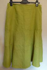 Per Una UK14 EU42 US10 new moss green linen skirt