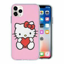 Para Teléfono Móvil Sintético Funda Parte Trasera Hello Kitty Corazón - T1460