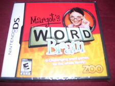 MARGOT'S WORD BRAIN NINTENDO DS FACTORY SEALED!!!  L@@K!!!