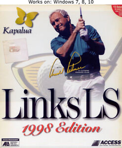 Links LS 1998 Edition PC Golf Game Windows 7 8 10