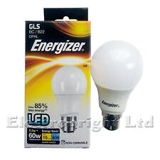 ENERGIZER LED GLS GLOBE 9.2W=60W BULBS.WARM WHITE BC NON DIMMABLE ENERGY SAVING