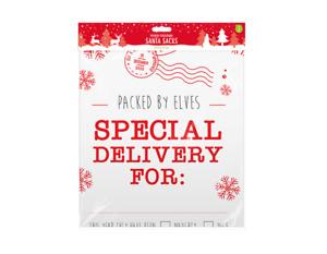 Large Christmas Present Printed Santa Sacks Pack of 2