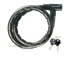 O1 Master Lock 8126 bicicleta cable con candado 1,8m castillo elástico Roller quad