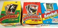 1987 1988 1992 TOPPS Baseball Cards Wax Boxes(3) 108 Packs Bonds Bo McGwire