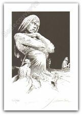 Ex-libris Sérigraphie François Schuiten La statue 120ex signé 21x29,7 cm