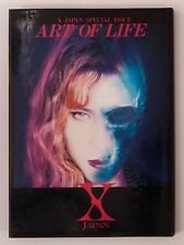 X JAPAN SPECIAL ISSUE ART OF LIFE Interview & Photo Book YOSHIKI HIDE FC Limited