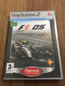 F1 2005 Formula One 05 PS2 PlayStation 2 FREE POSTAGE