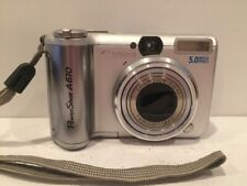 Canon PowerShot A610 5.0MP Digital Camera 4x Optical Silver TESTED