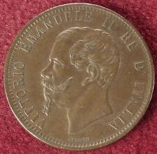 Italy 10 Centesimi 1866 T (E2506)