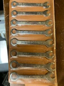 VINTAGE 8 piece wrench set, Complete Hong Kong