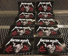 LOT of 10 ~ STONE BREWING METALLICA Enter Night Pilsner Beer Collab Sticker