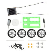 1pc Solar Powered Electric Motor Kit Car DIY Educational Gadget Hobby Robot Toy