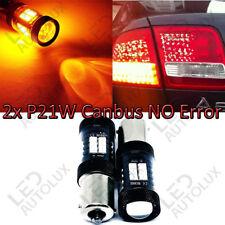 P21W BA15S Amber arancione 30 LED Canbus Lampadine Indicatore posteriore di segnale Blinker indice
