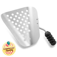 Aluminum Commercial Popcorn Maker Speed Scoop w/ Holes for Filling Bags, Boxes