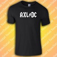 Axl DC T-Shirt | ACDC | |Axl Rose | Guns N Roses | Rock n Roll | Slash