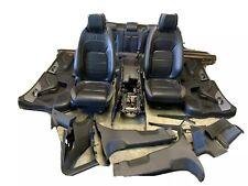 JAGUAR F-PACE R SPORT SEATS INTERIOR LEATHER BLACK COMPLETE