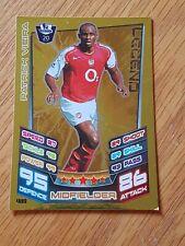 Match Attax Premier League 2012/2013 LEGENDS Patrick Vieira - Arsenal - #489 (a)