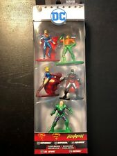 Nano metalfigs dc 5 pack Superman, Aquaman, Supergirl, Batman, Lex Luthor Pack B
