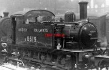 PHOTO  LNER J69 NO E 68619 1948 STATION PILOT AT LIVERPOOL STREET RAILWAY STATIO